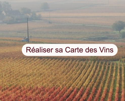 Concevoir sa Carte des vins