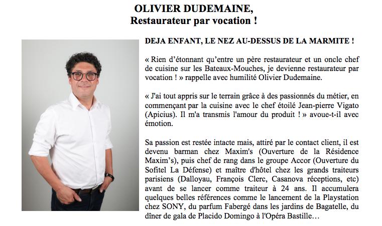 Dossier de Presse Le Restaurateur Fute